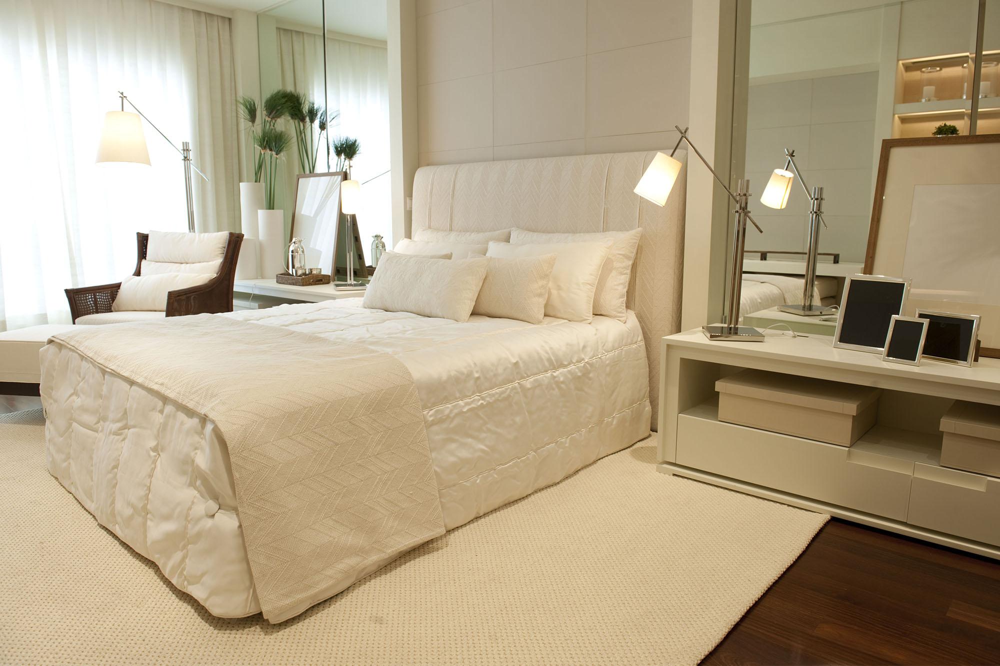 Quarto De Casal Zen Cores Neutras E Ambiente Calmo Para Relaxar ~ Cores De Tintas Para Quarto Casal