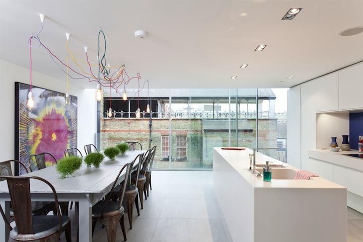 Cozinha integrada Casa Casada