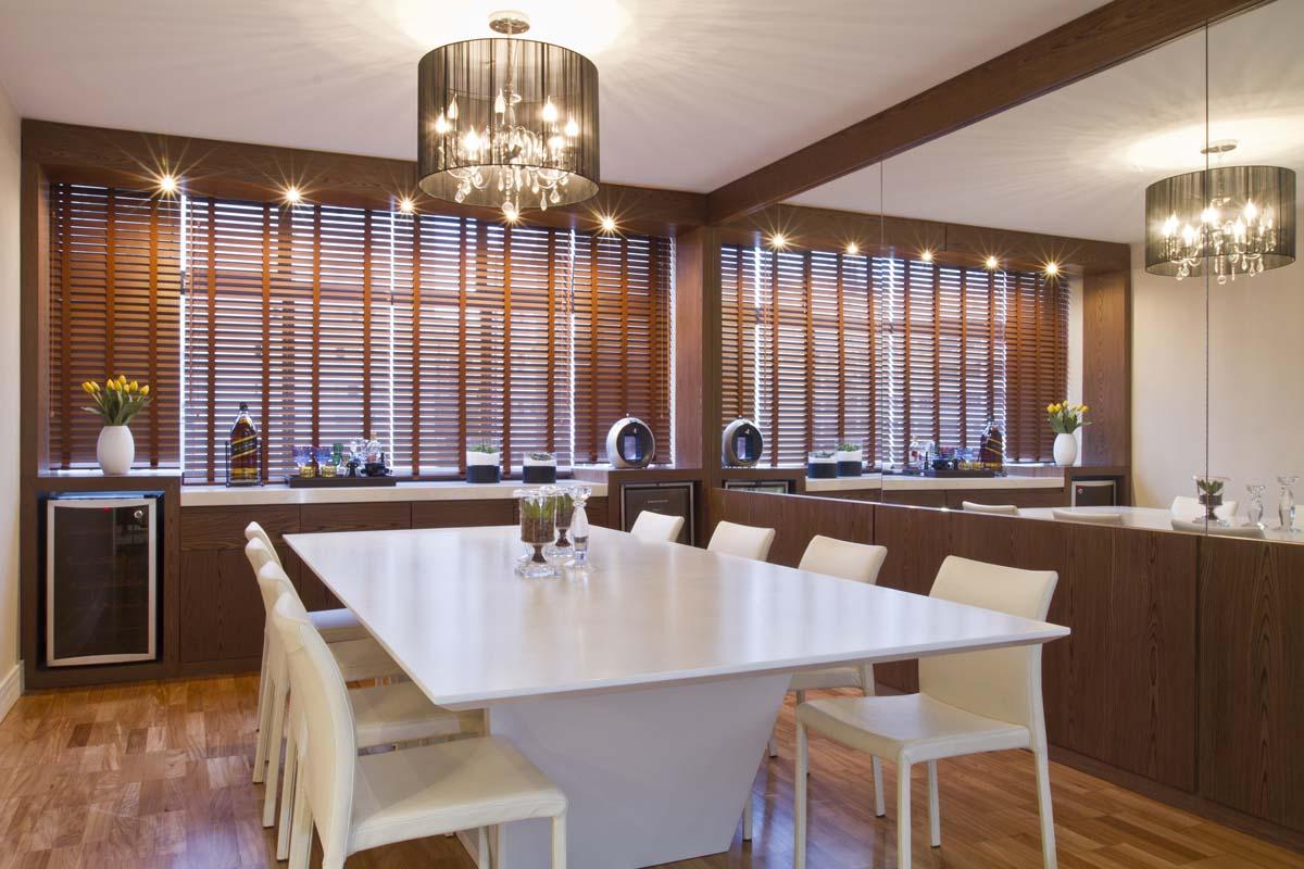 Espelho Na Sala De Jantar Casa Casada