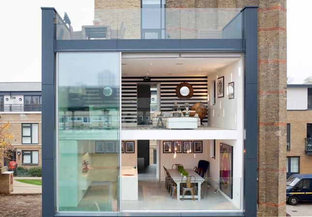 Arquitetura moderna caixa d gua do s c xix vira for Modernizar fachada casa