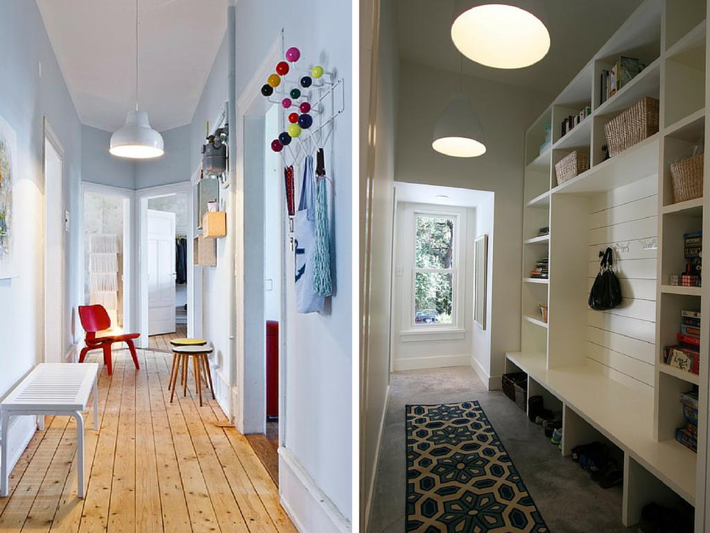 corredor, Casa Casada, decorando o corredor