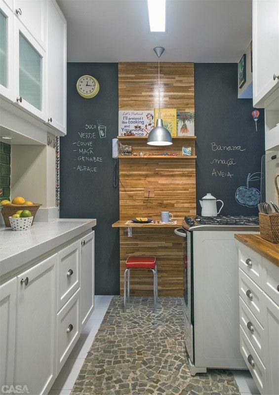 tinta lousa na cozinha