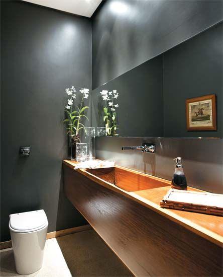lavabo escuro