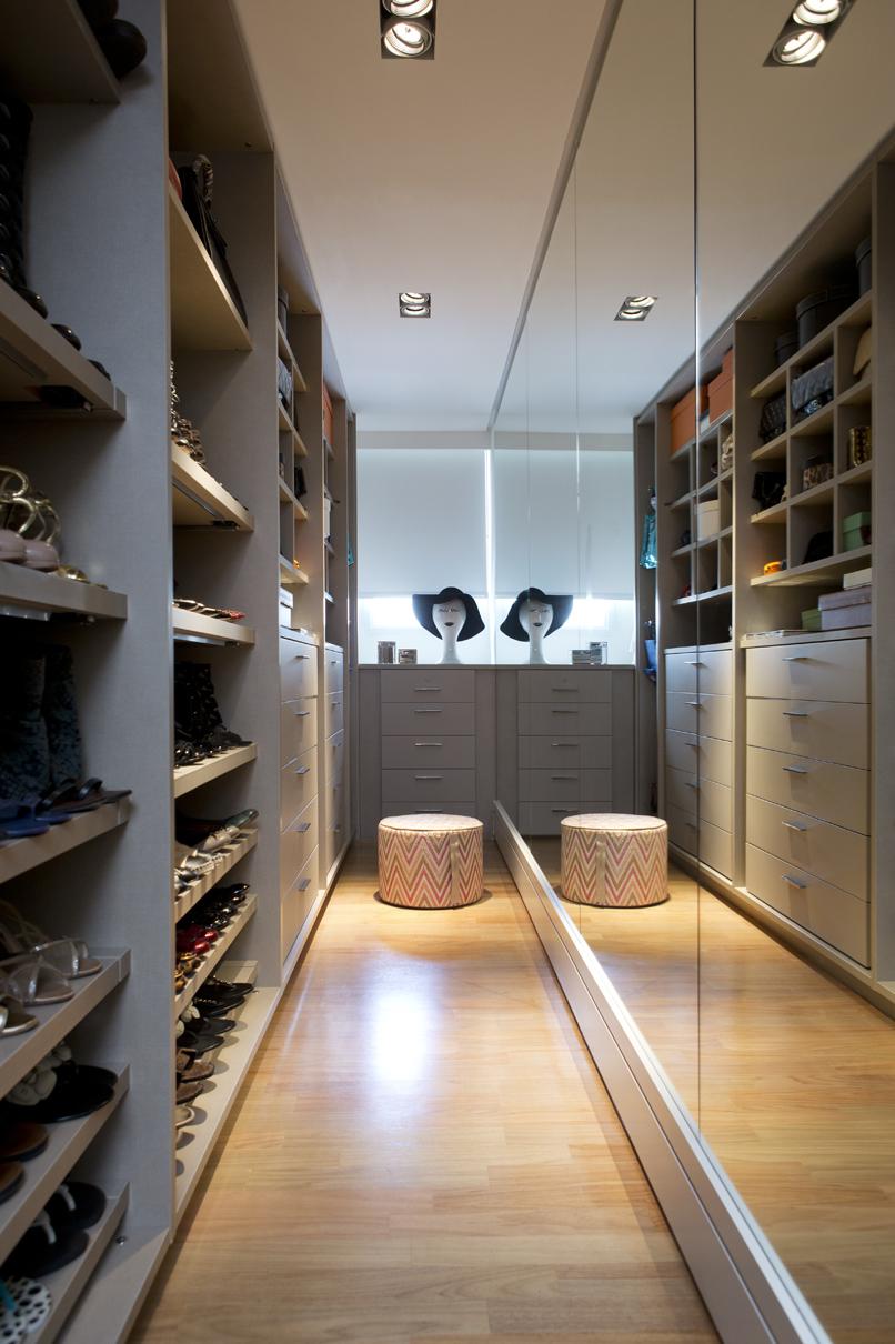 apartamento moderno e bem integrado