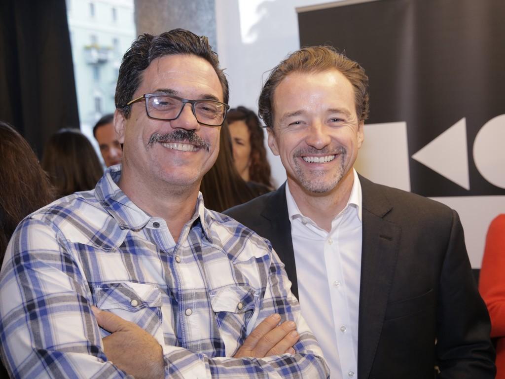 Beto Cocenza e Christian Kadow da Mekal