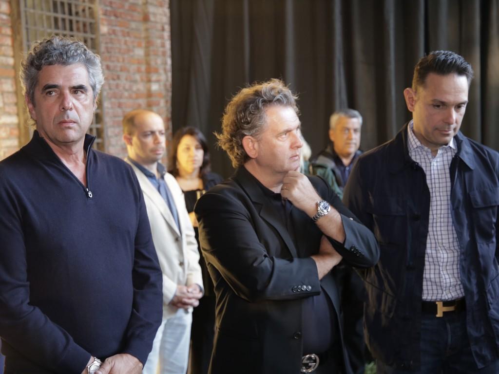 Fran Abreu, Angelo Derenze e José Roberto Moreira do Valle