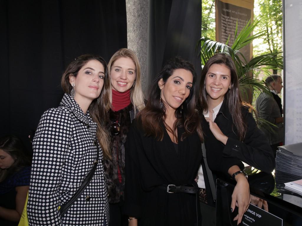 Leticia Ruivo, Maite Maiani, Mariana Amaral e Andraci Maria Atique