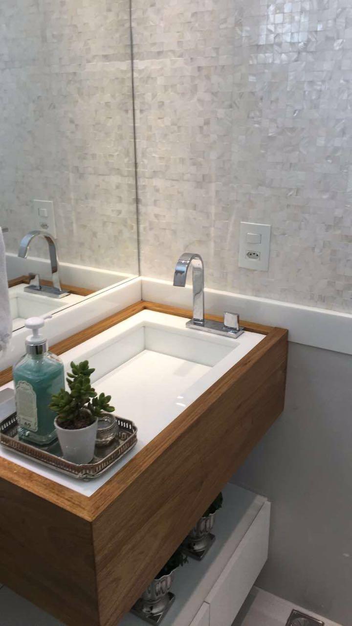apartamento compacto, detalhes banheiro