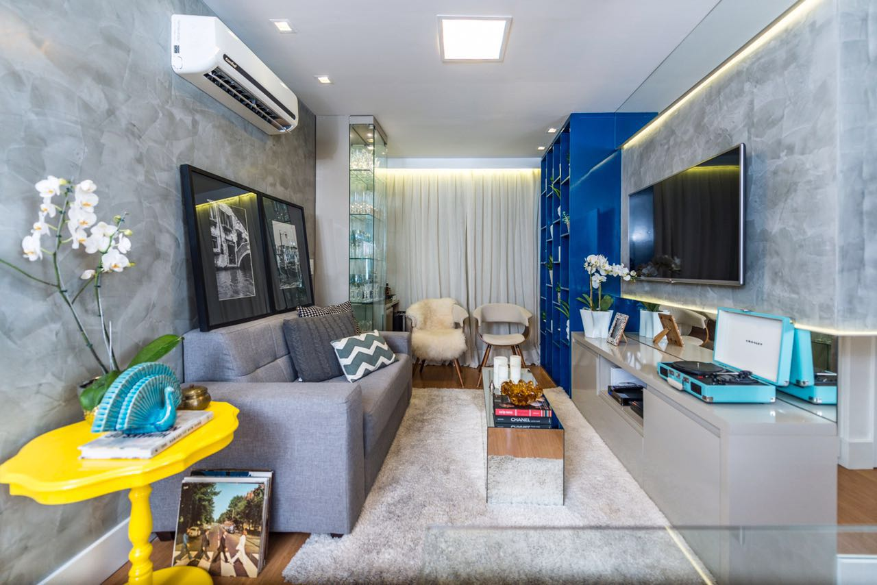 decoraçao apartamento pequeno, decoraçao sala