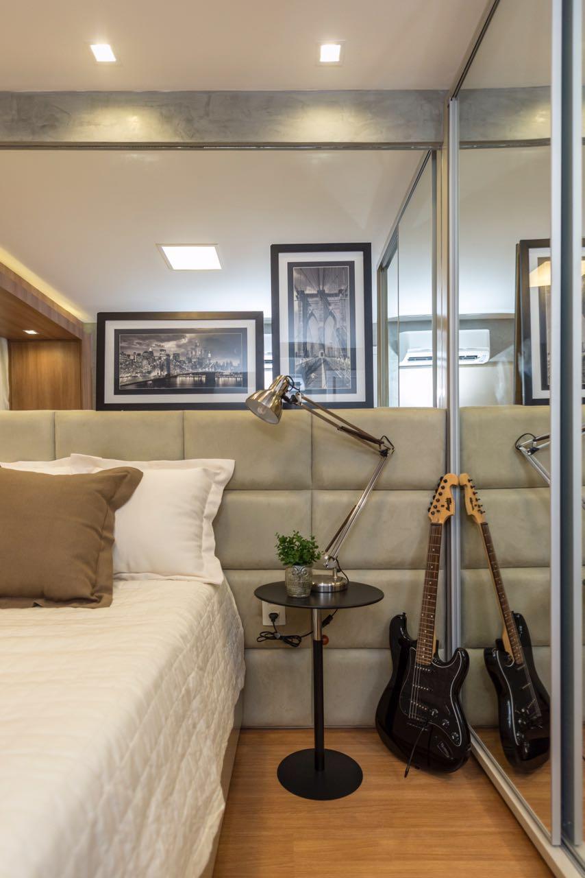 Decora o de apartamento de 50m2 super compacto mais for Diseno de apartamentos de 45m2