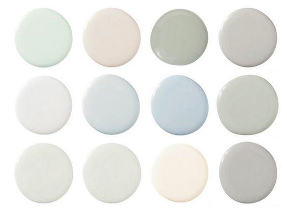 paleta de cores estilo escandinavo