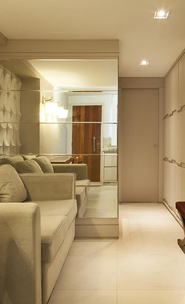 sala apartamento pequeno, sergio caos