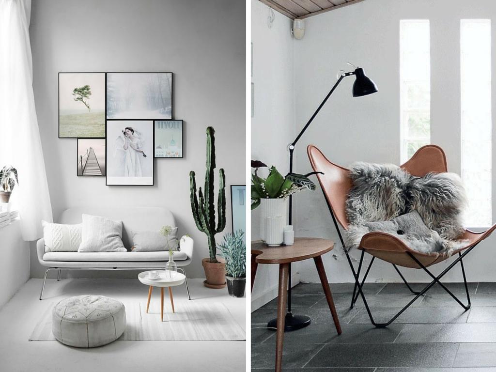 salas estilo escandinavo