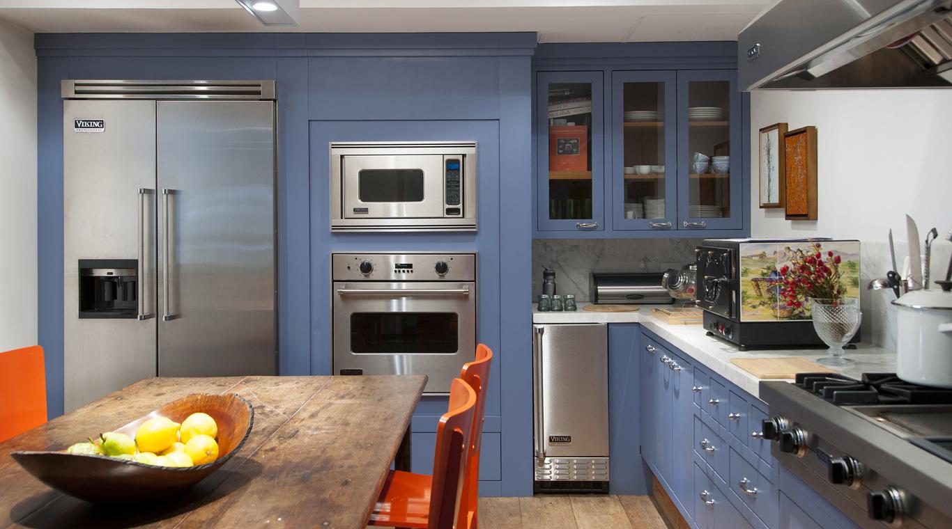 cozinha armário lilás