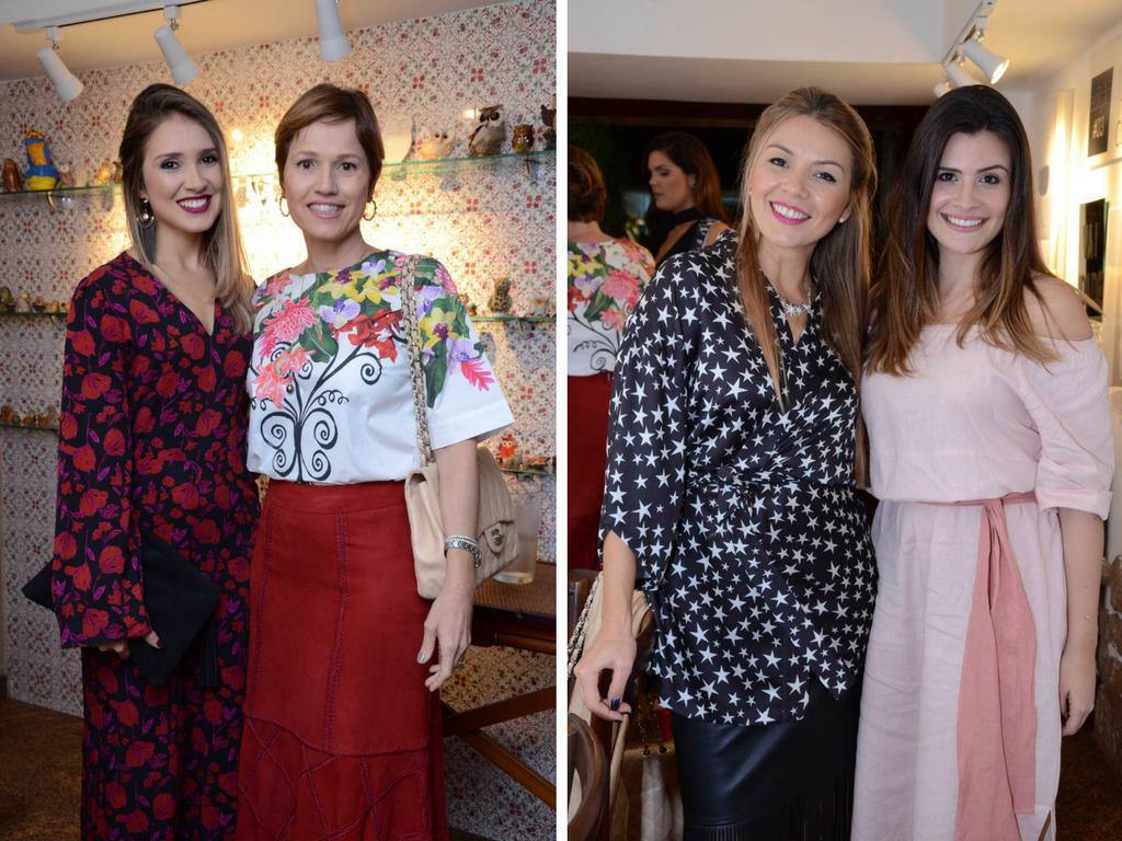 Thananda Torres e Claudia Scarton. Maria Sanz e Mariah Cardoso
