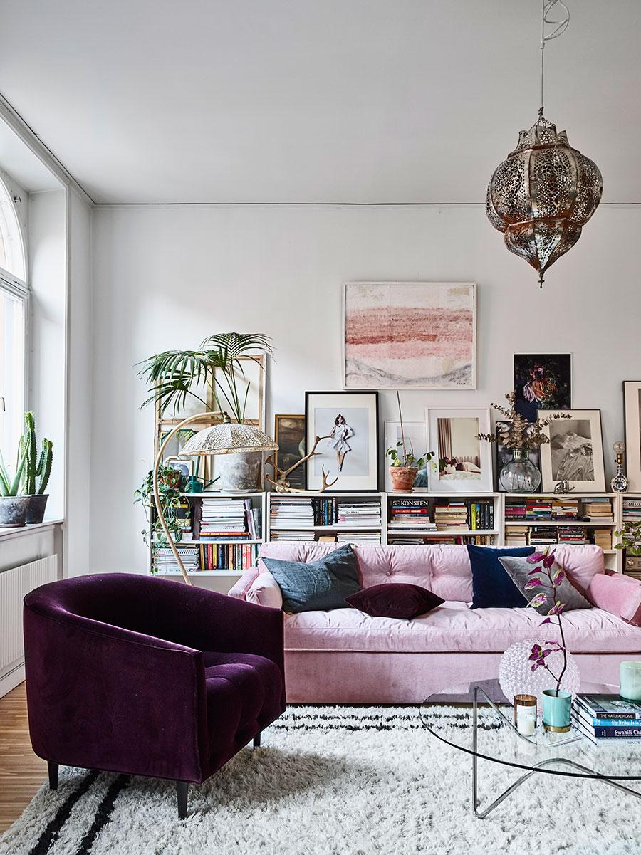 apartamento feminino, eclético e com alma boho