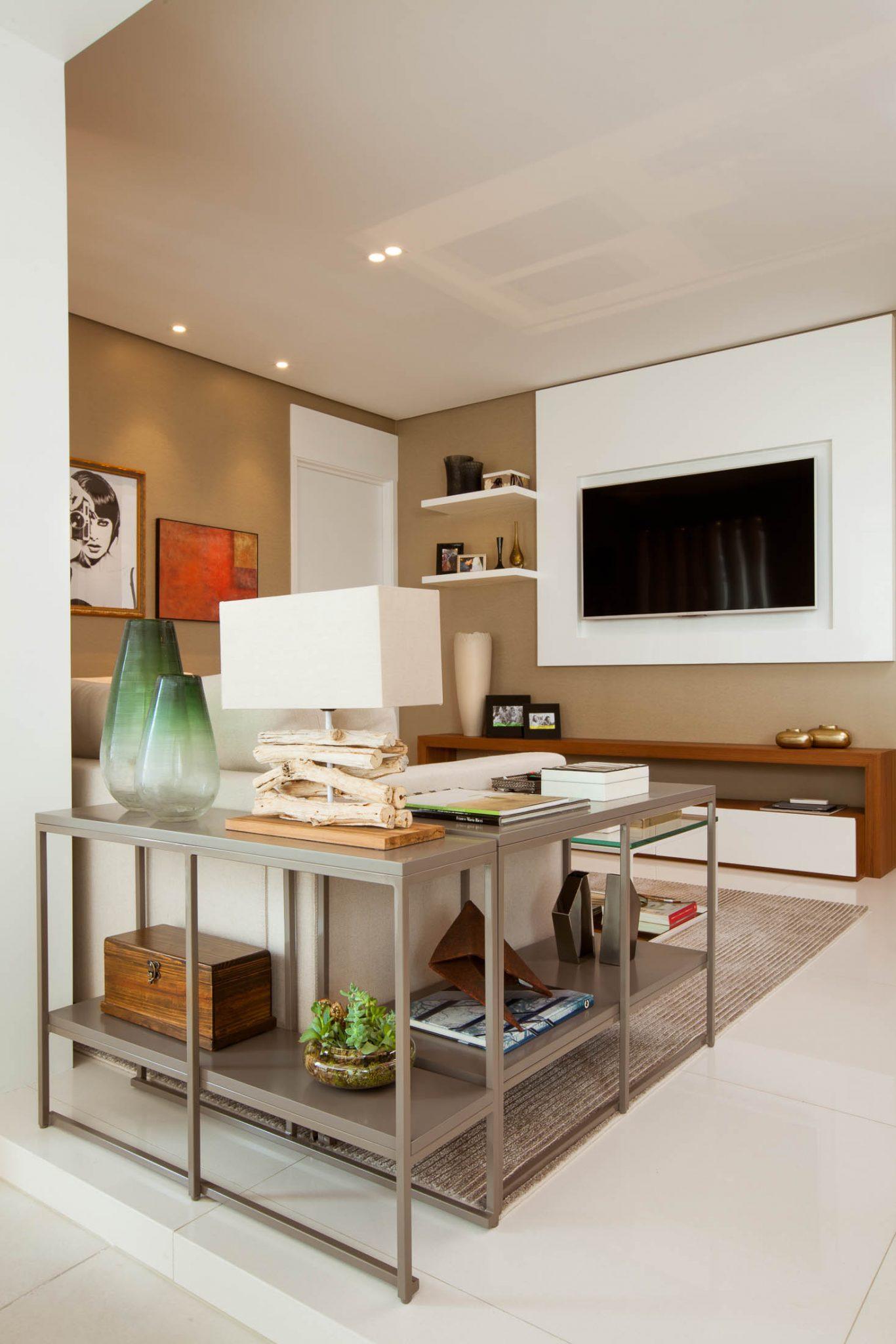 decoração apartamento com sala e varanda integradas (5)