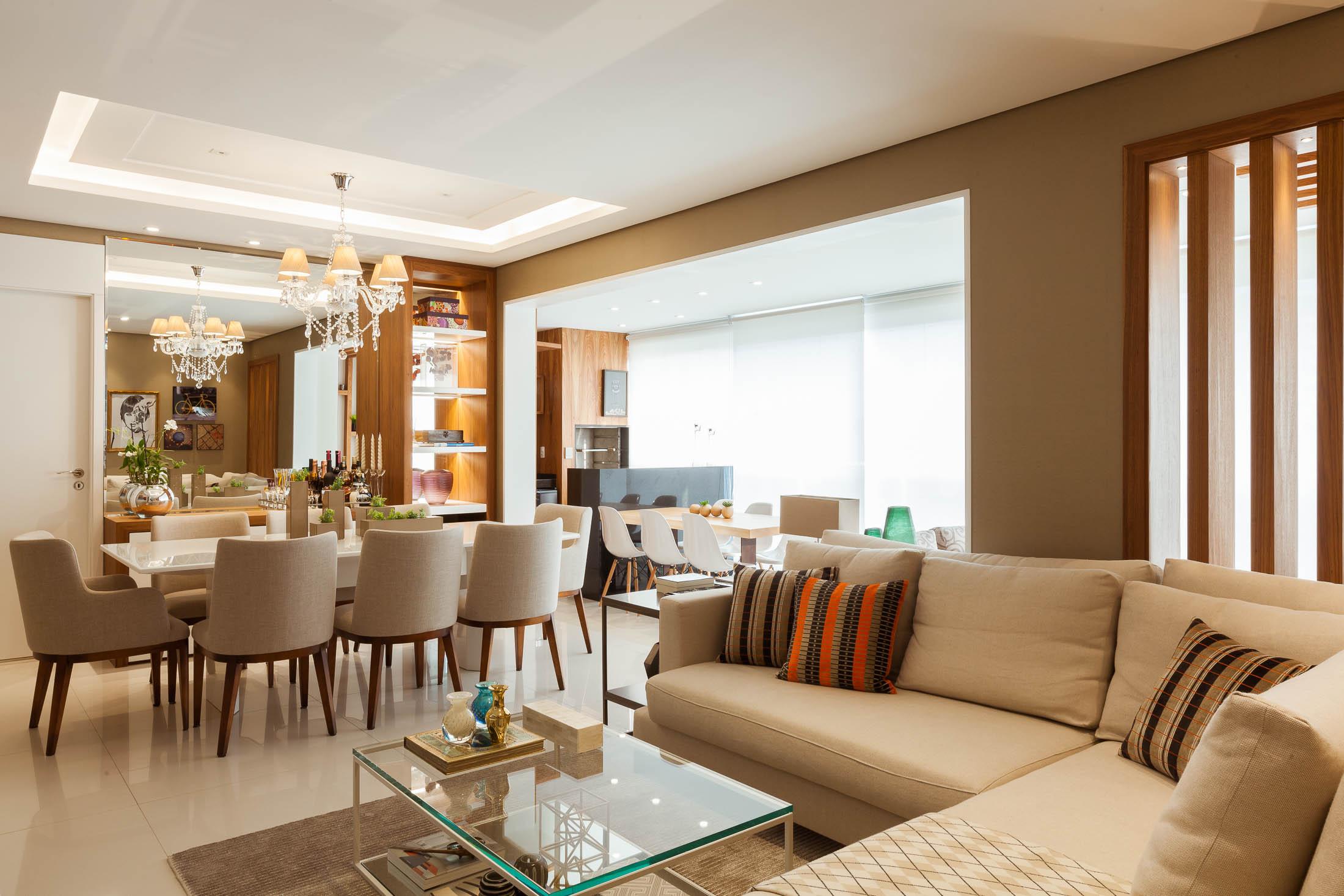 decoração apartamento com sala e varanda integradas (7)