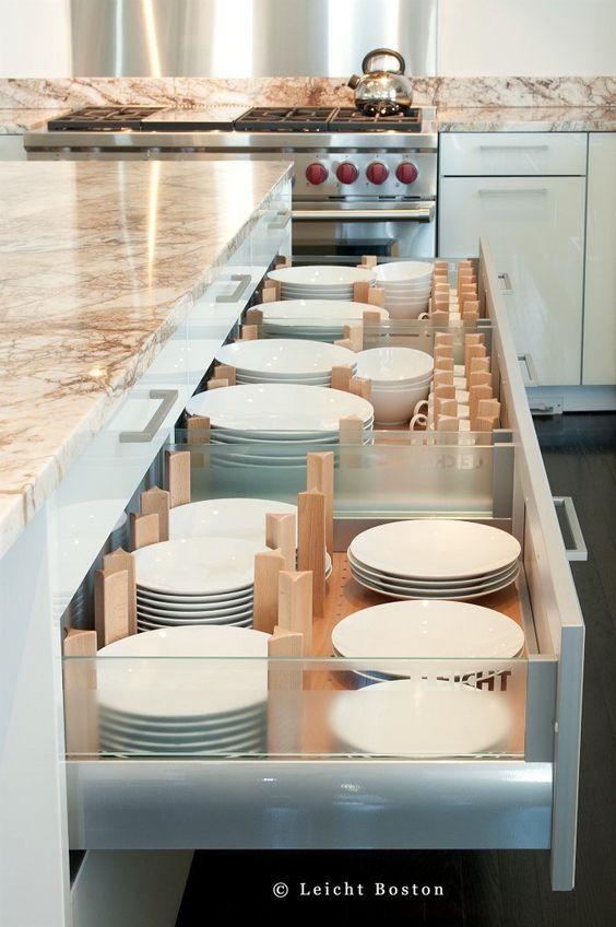 armário cozinha divisória