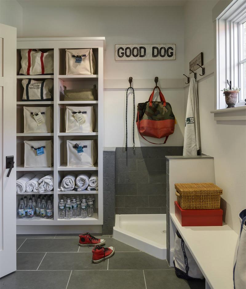 dog shower, o banho para cahorro em casa 5