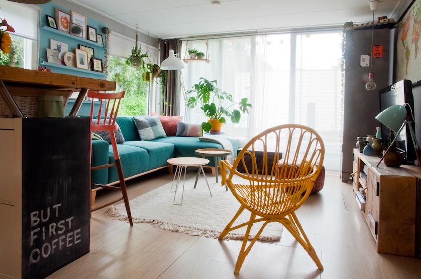 01-Sala-de-Estar-Living-Houseboat-Casa-flutuante-Casa-Casada (1)