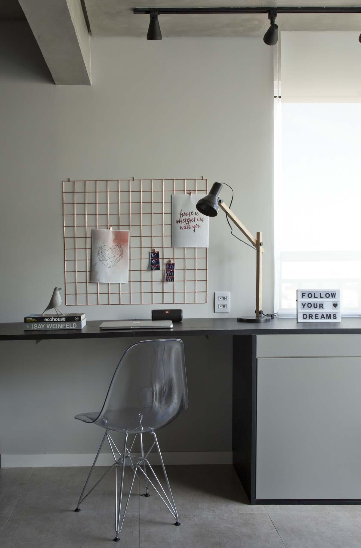 Ambientes integrados e décor com toques retrô e industriais (15)