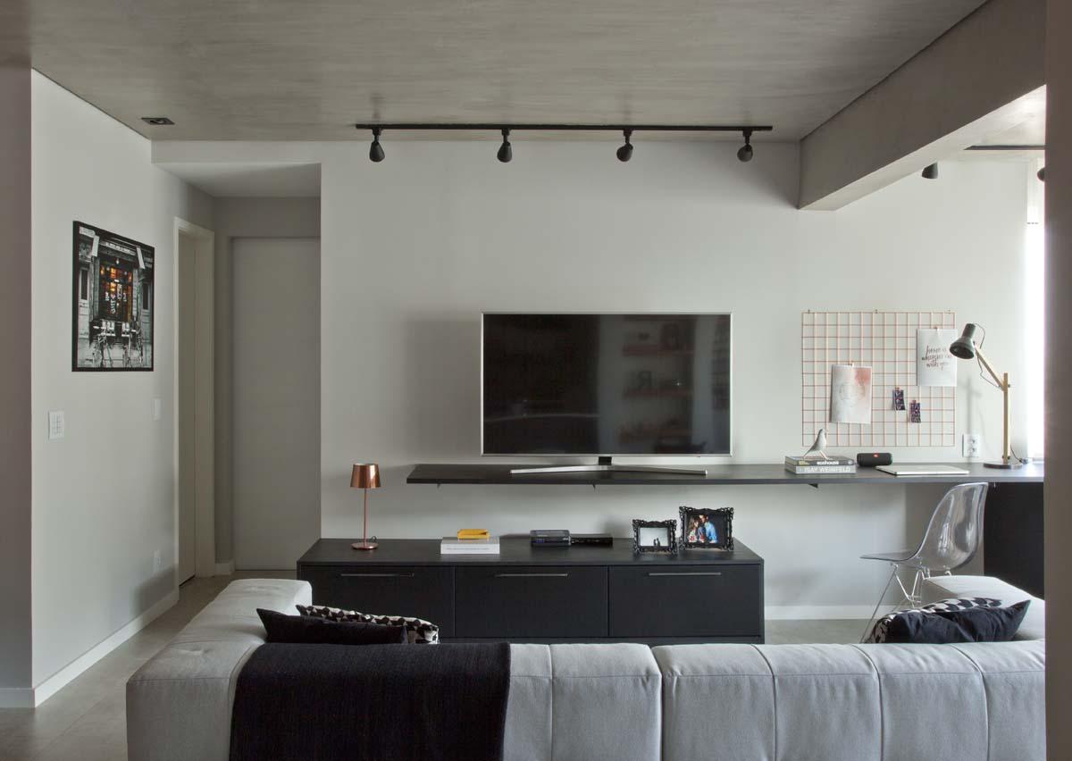 Ambientes integrados e décor com toques retrô e industriais (16)