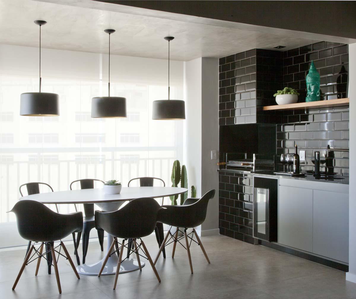 Ambientes integrados e décor com toques retrô e industriais (5)
